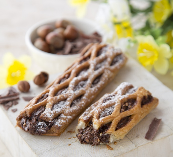 Chocolate Hazelnut Lattice Cuisine de France